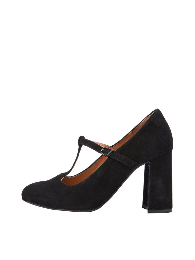 T-STEG- PUMPS, Black, large