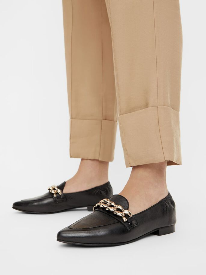 BIATRACEY LEATHER LOAFERS, Black6, large