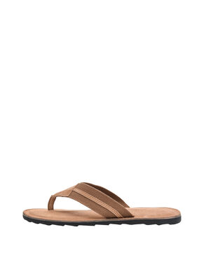 MEN'S CANVAS V SANDALS