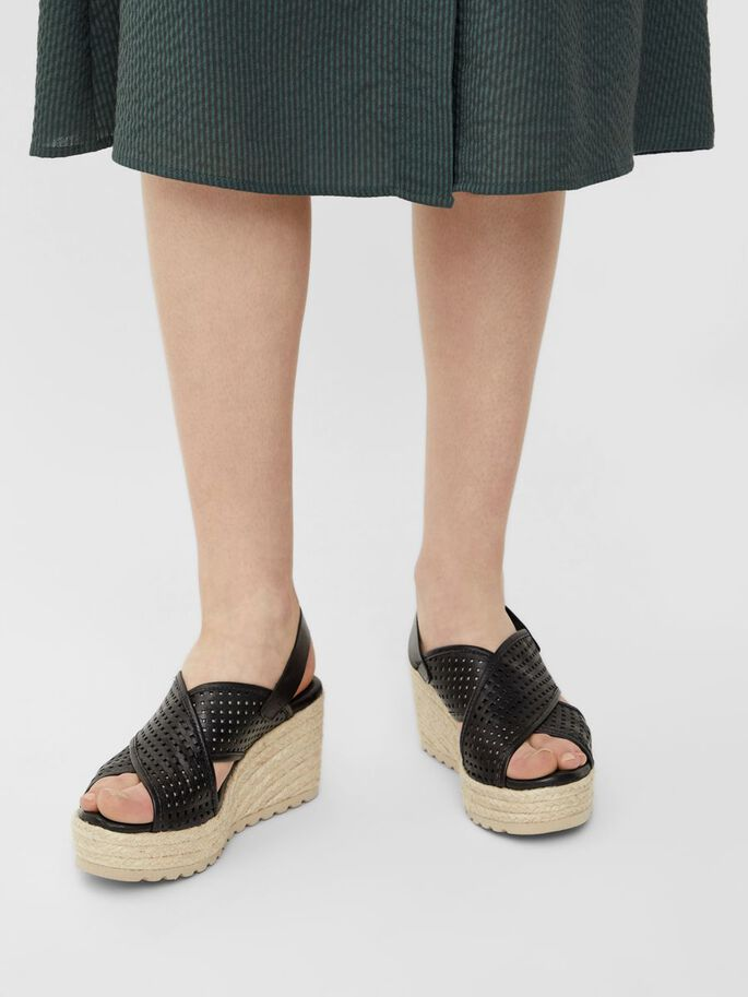 BIADANEEN WEDGES, Black, large