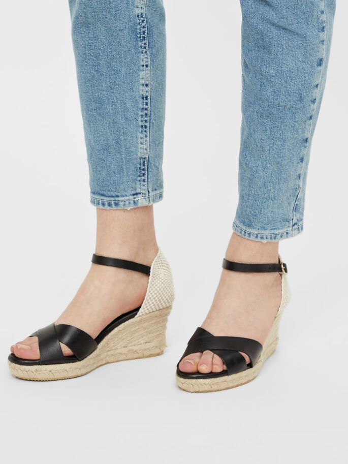BIADENA WEDGES, Black, large