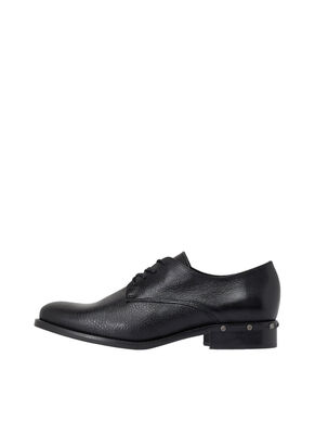 STUD EFFECT DERBY SHOES