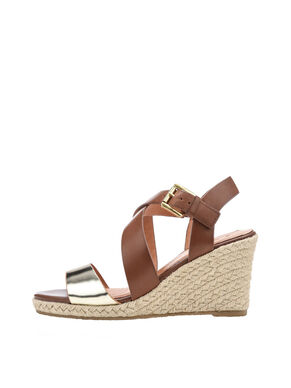 LEATHER STRAP ESPADRILLES