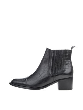 CP CROCO ANKLE BOOTS
