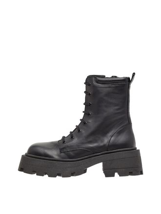 BIADESSIE LACE-UP BOOTS