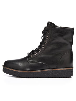 FLATFORM LACED UP BOOTS