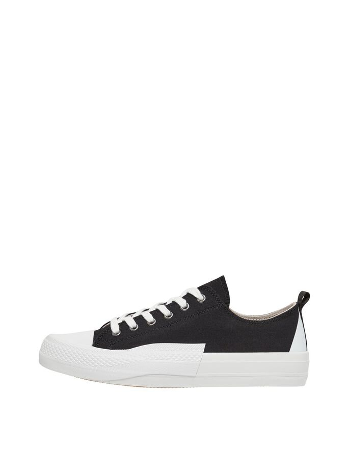 BIADALE CANVAS TRAINERS, Black4, large