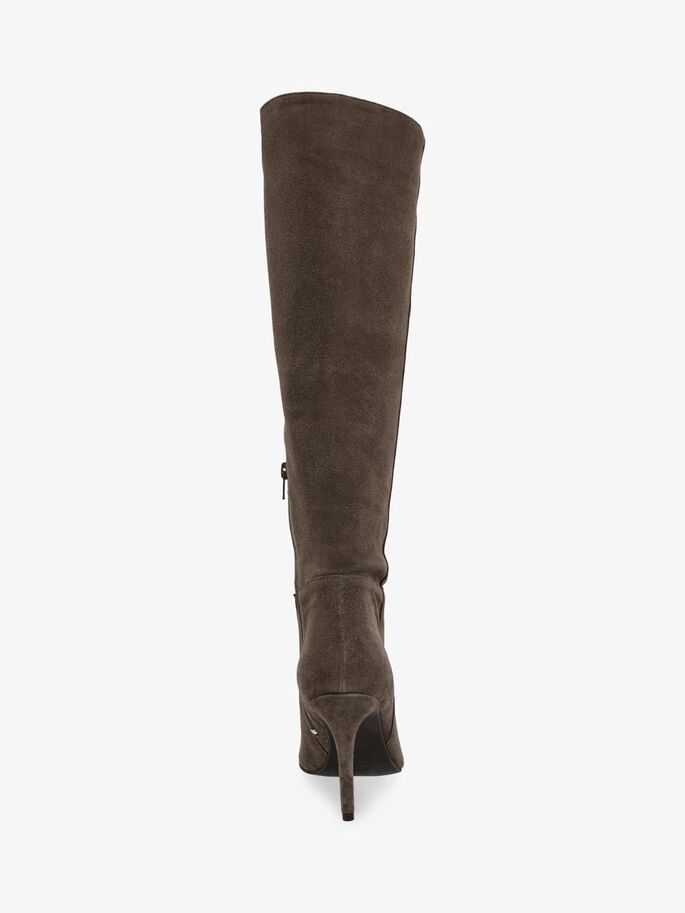 BIADANGY LONG BOOTS, WarmGrey, large