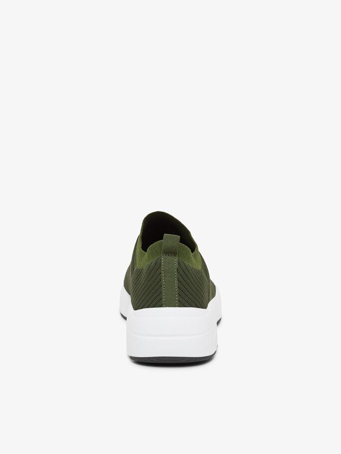 STRICK SNEAKERS, ArmyGreen4, large