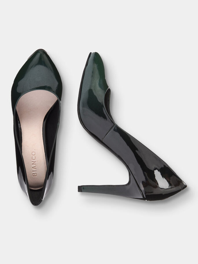 FADED PUMPS, Dark Green, large