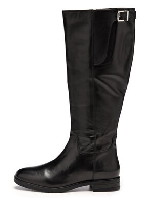 LONG BUCKLE BOOTS