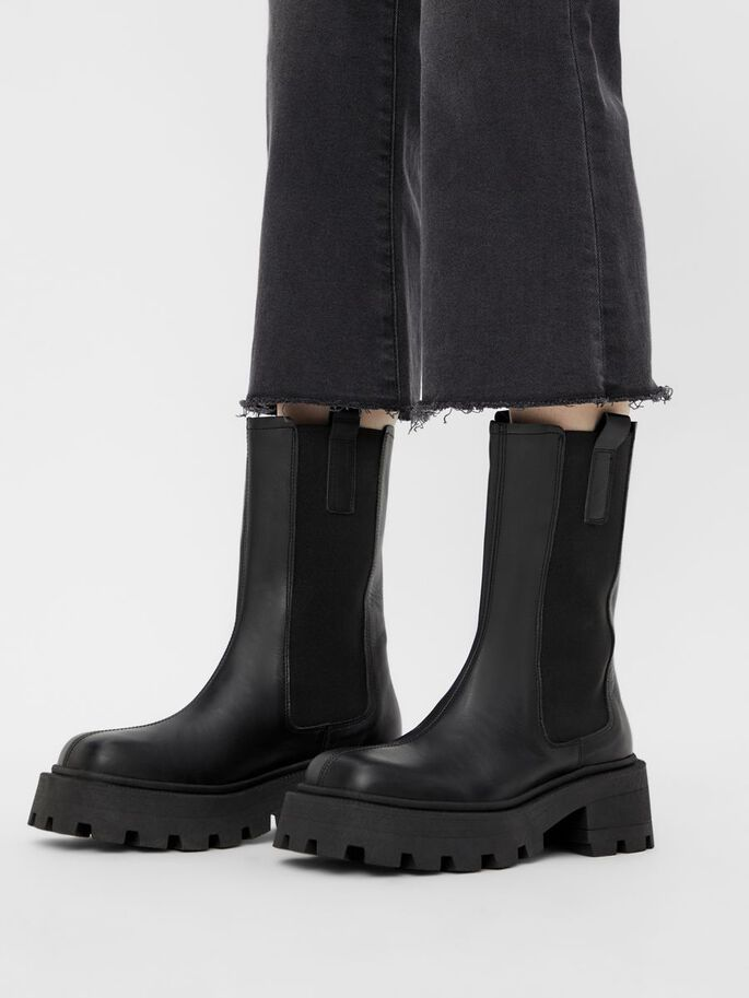 BIADESSIE CHELSEA BOOTS, Black, large