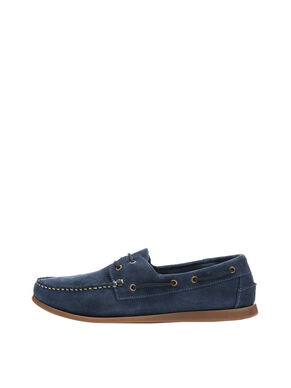 MEN'S SUEDE BOAT SHOES