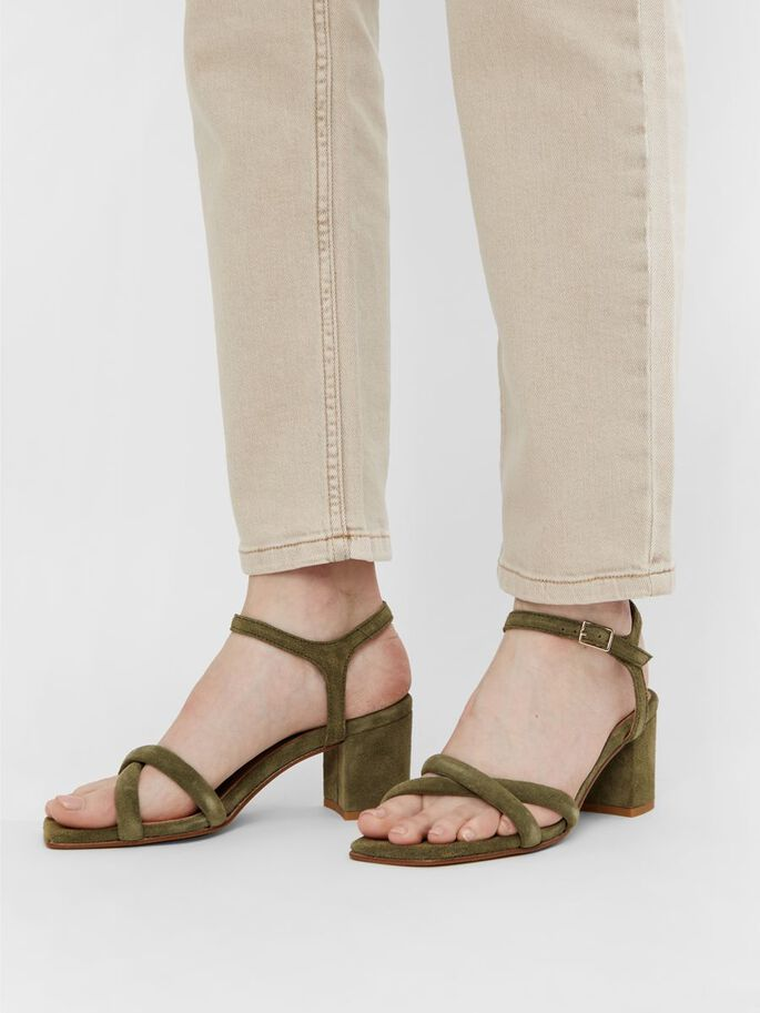 BIABEONNA CROSS SANDALS, Pale Green 1, large
