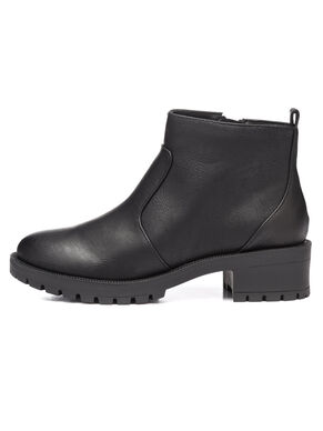 WARM BASIC ANKLE BOOTS