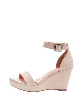 SIMPLE WEDGE SANDALS
