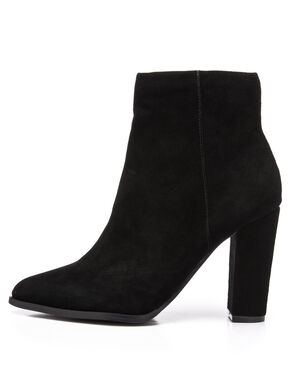 SUEDE POINTY BOOTS