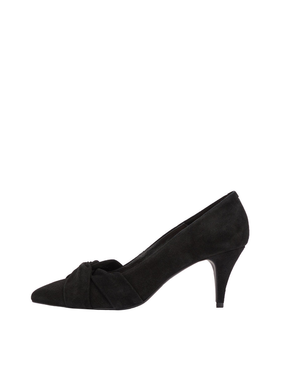 Bianco Zita Suede Knot Pumps Women black Meilleur Authentique gW1DkLBG19