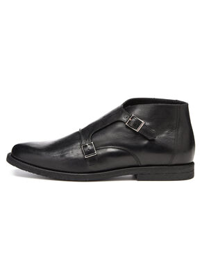 MEN'S DOUBLE MONK BOOTS