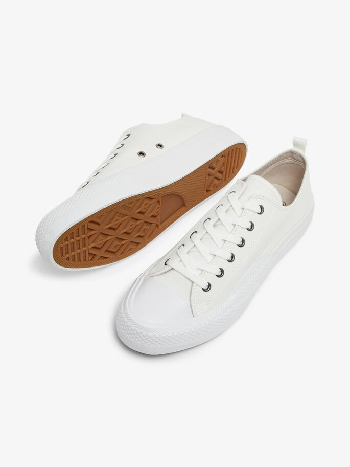 BIADALE CANVAS TRAINERS, White4, large