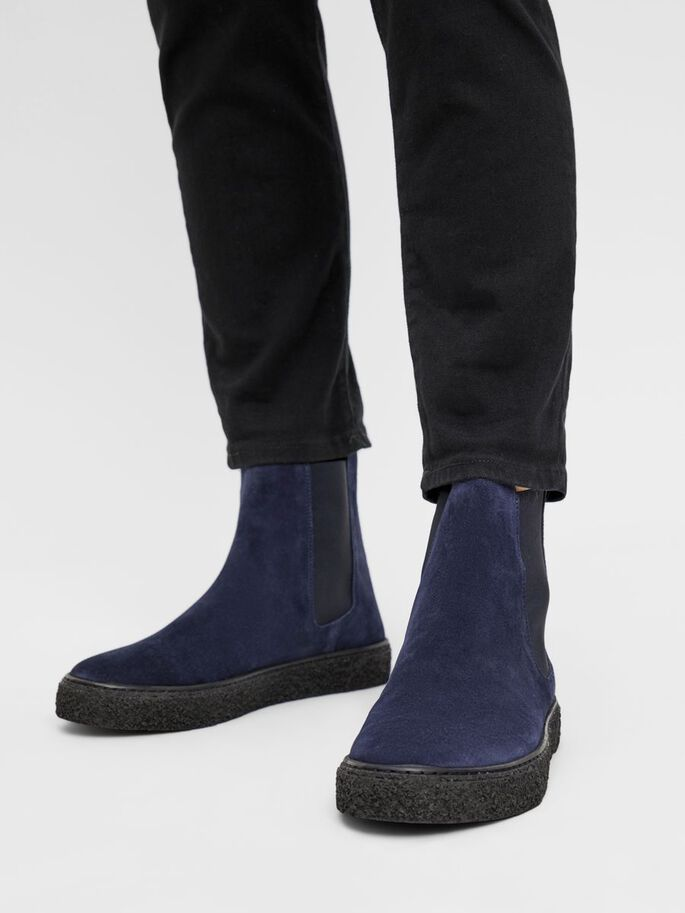 BIACHAD CHELSEA BOOTS, NavyBlue1, large