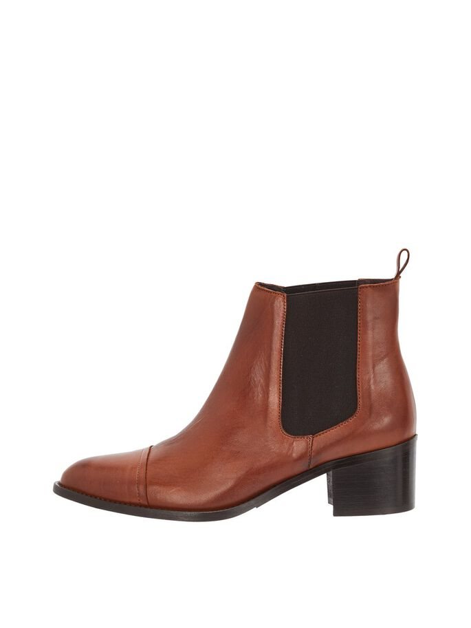 a66f99cae3c Leather chelsea boots | BIANCO