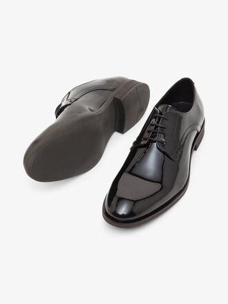 BIABYRON PATENT DERBY SHOES