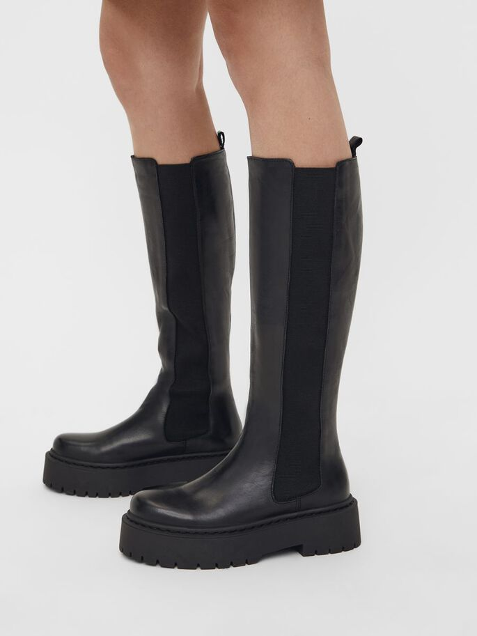 BIADEB EXTRA LONG BOOTS, Black, large