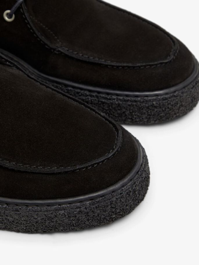 BIACHAD MOCASSINS, Black1, large