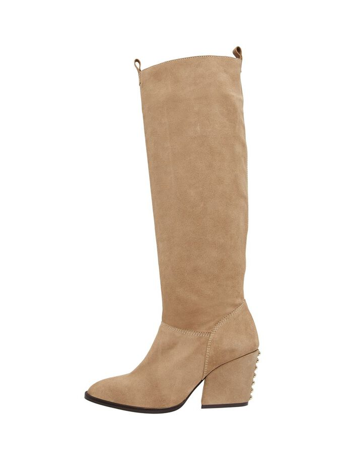 BIADELINA LONG BOOTS, Beige1, large