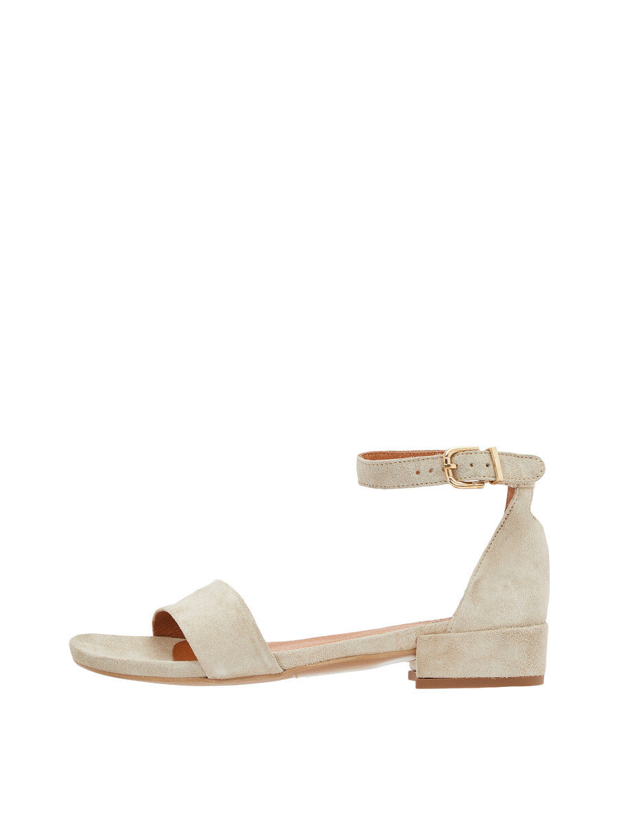 Bianco Minimalistic Sandals Women green
