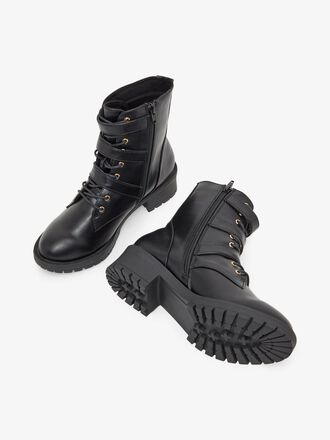 BIACLAIRE BASIC BIKER WIDE FIT BOOTS
