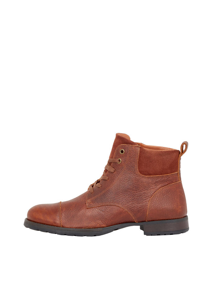 MEN'S BOOTS, Light Brown, large