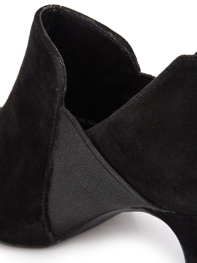 SUEDE PARTY BOOTS, Black, large
