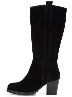 LONG SUEDE BOOTS