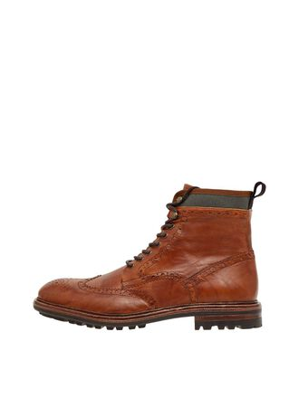 BIADELVIN LACE-UP BOOTS