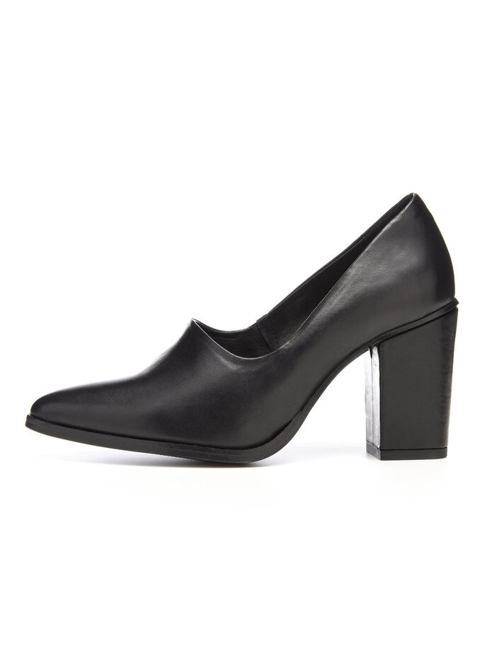 HIGH FRONT PUMPS, Black, large