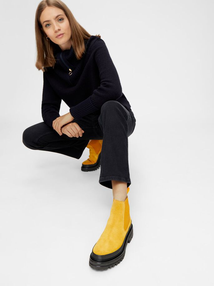 BIADICY CHELSEA BOOTS, Mustard1, large