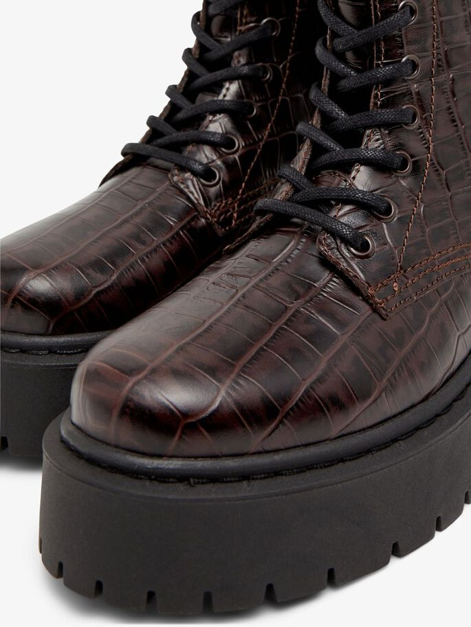BIADEB WIDE FIT BOOTS, DarkBrown9, large