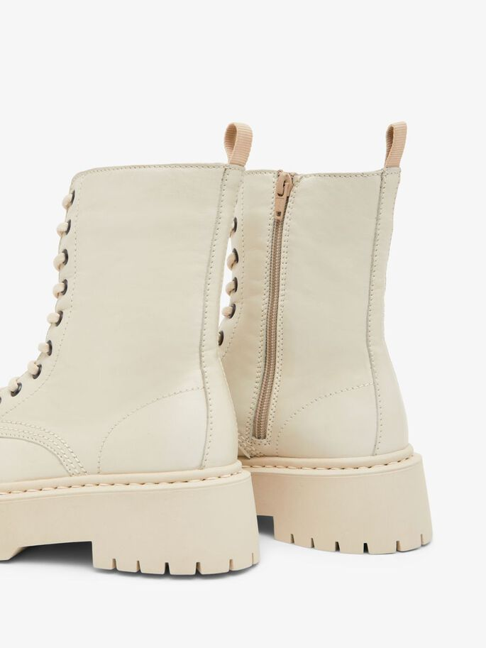 BIADEB LACE-UP BOOTS, Ice, large
