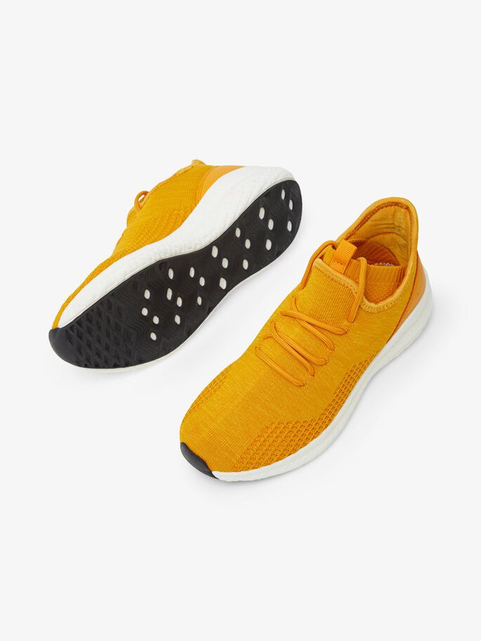 BIADELANA KNIT SNEAKERS, Mustard4, large