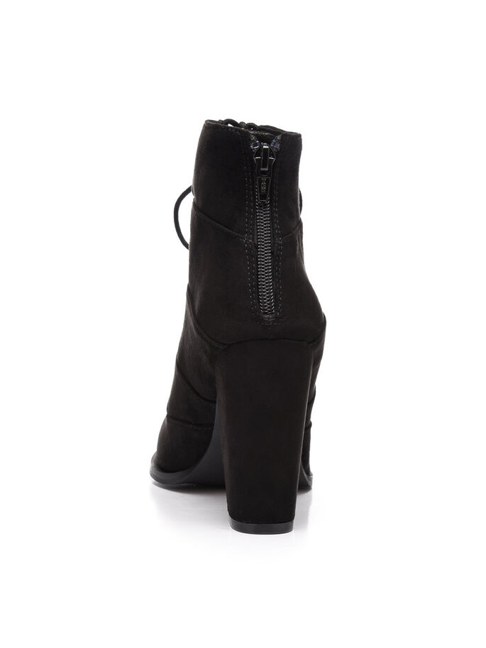 LACED UP BOOTS, Black, large