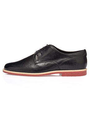 MEN'S CREPE LACED UP DERBY SHOES