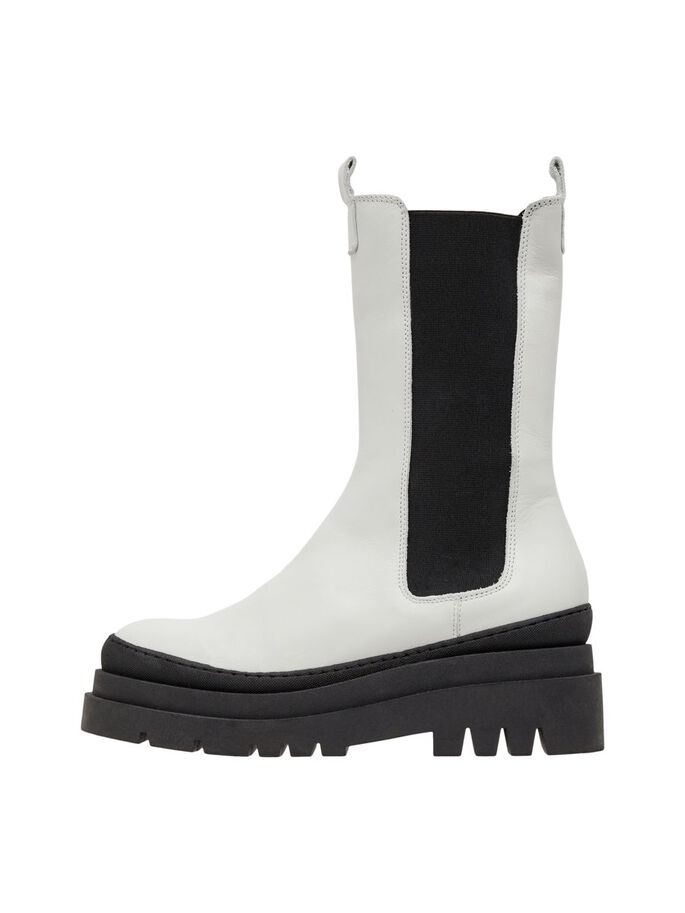 BIADEMA CHELSEA BOOTS, White, large