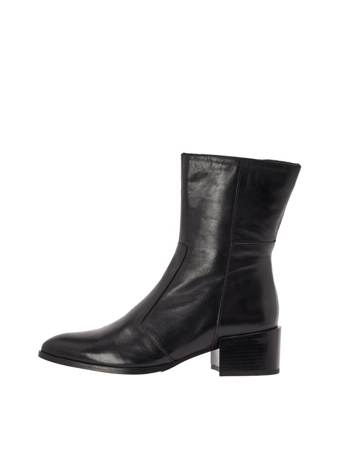 BIAAUDREY LEATHER BOOTS, Black, large