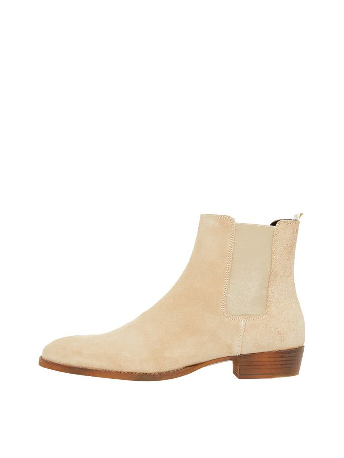 SUEDE ANKLE BOOTS, Sand1, large