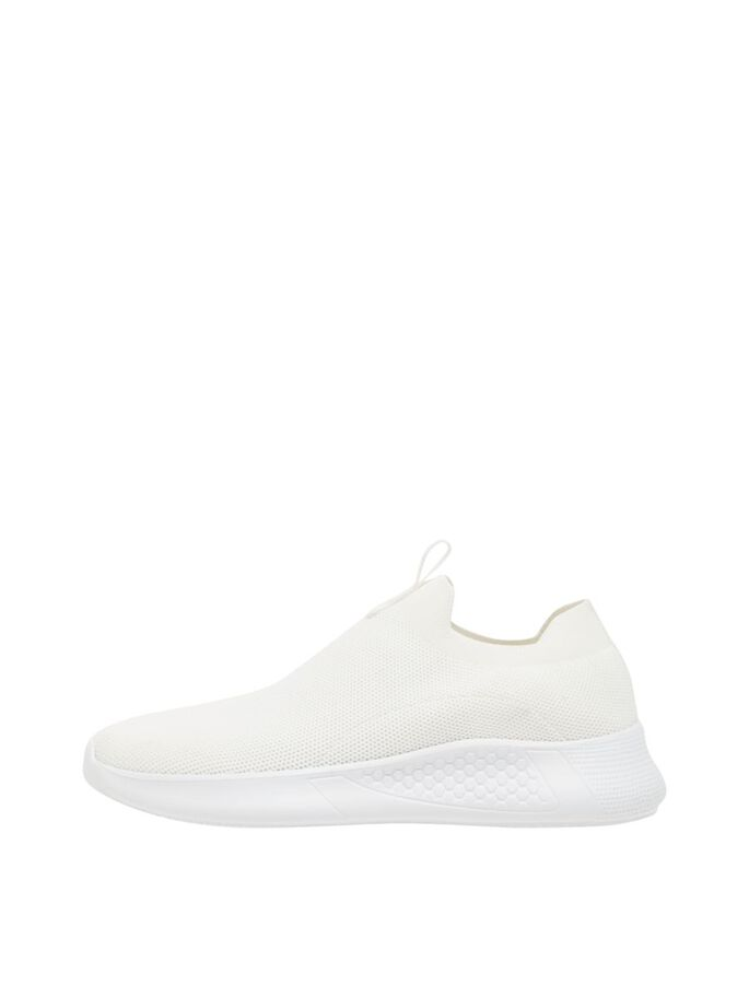 BIADEANA STRIKKEDE SNEAKERS, White4, large