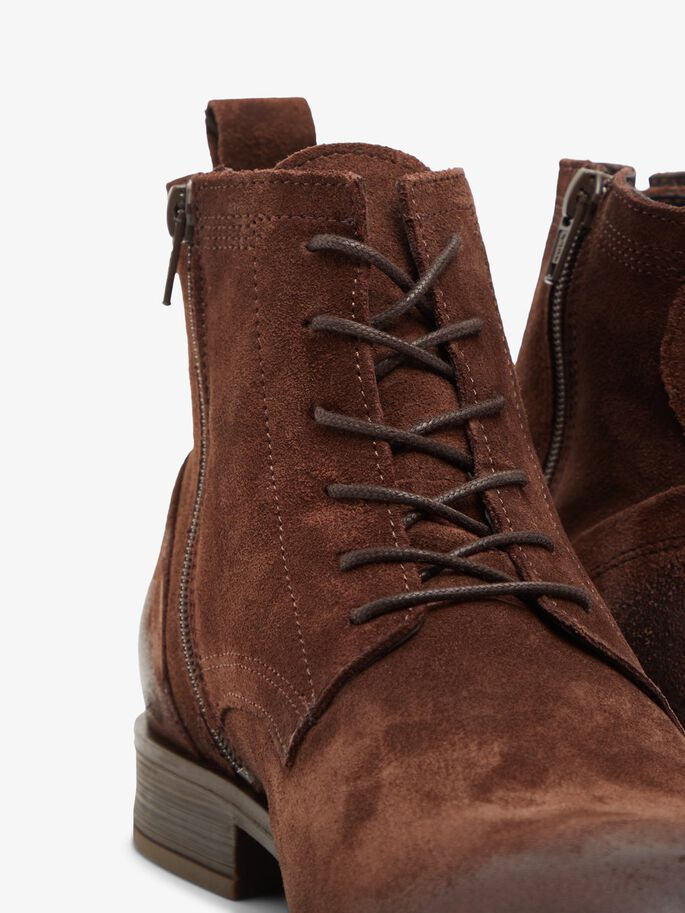 BIABYRON LACE-UP BOOTS, DarkBrown1, large