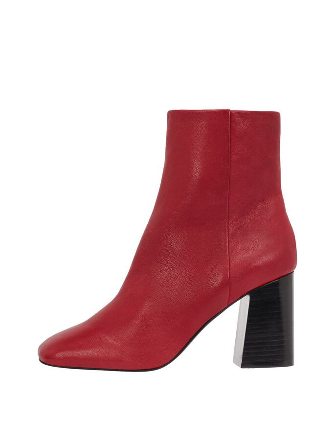 358cdf01e3437 Leather ankle boots | BIANCO