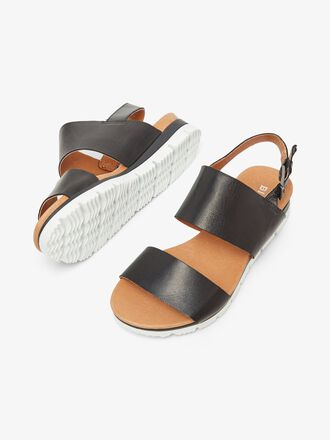 BIADEDRA LEATHER SANDALS